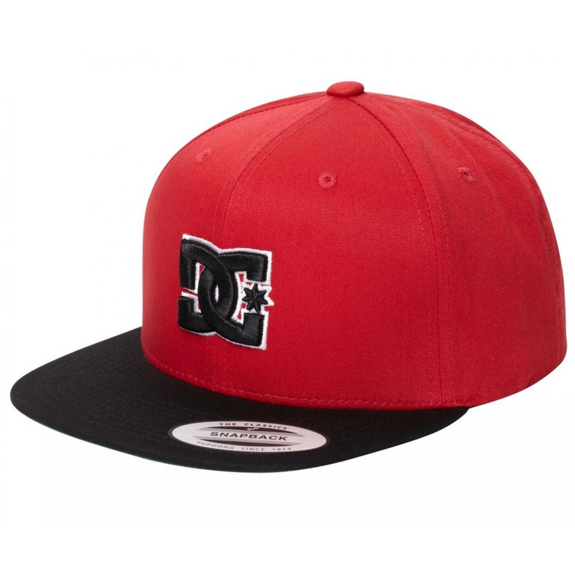 Czapka DC Snappy czerwony czarny