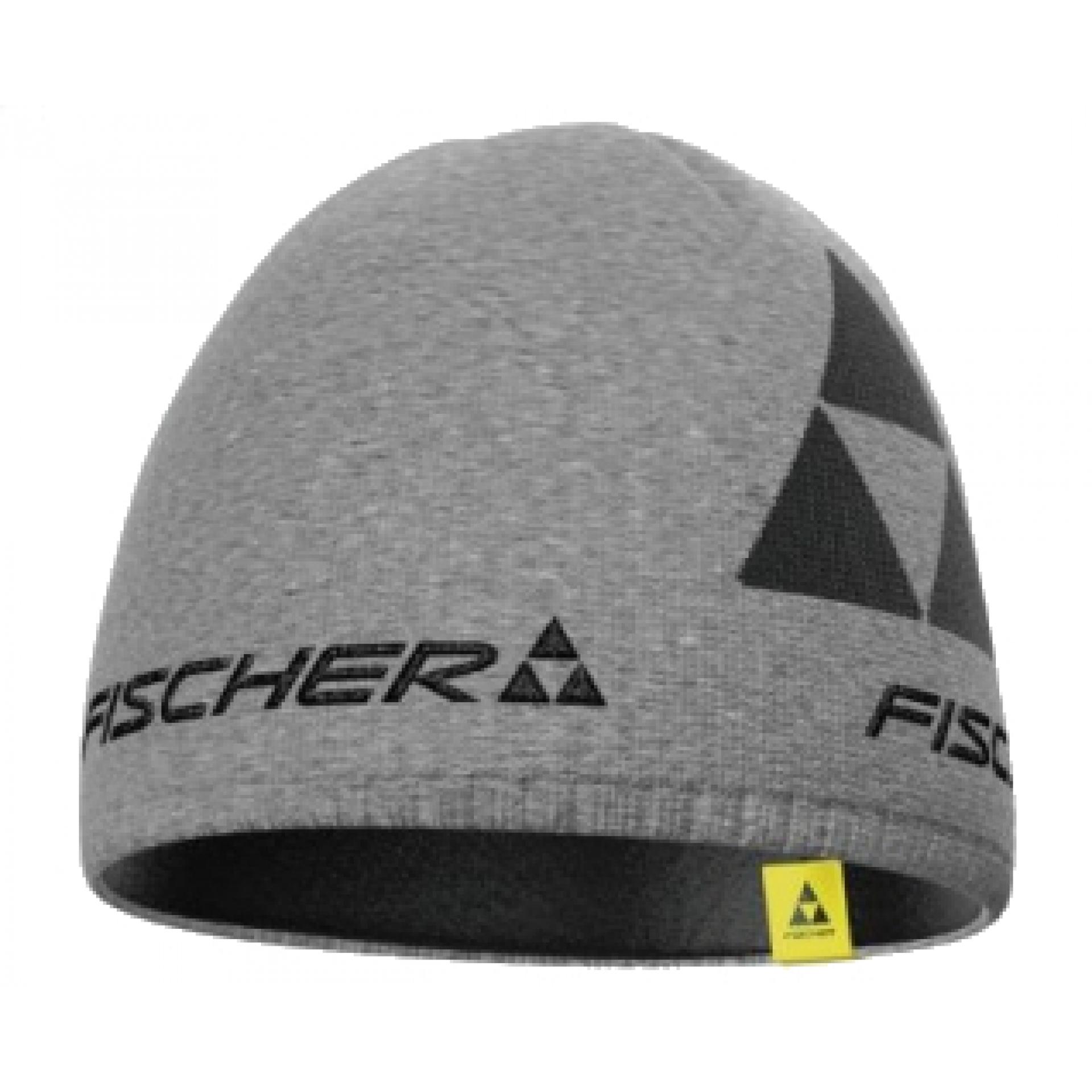 Czapka Fischer Beanie Logo szara 0