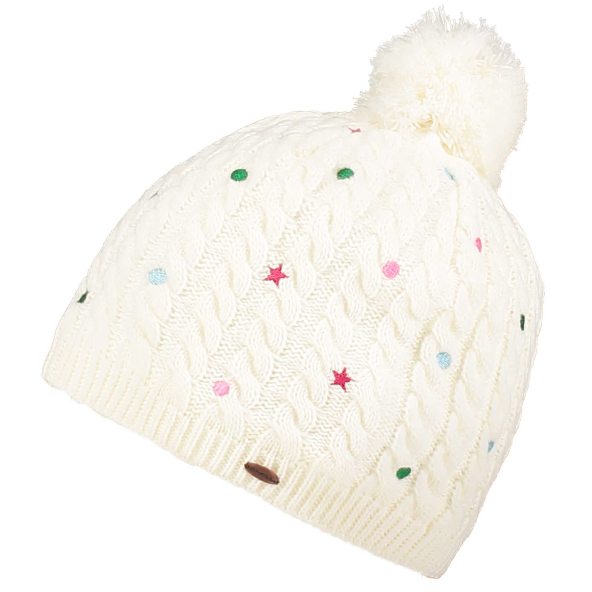 CZAPKA ONEILL # GIRLS STAR DOT BEANIE POWDER WHITE