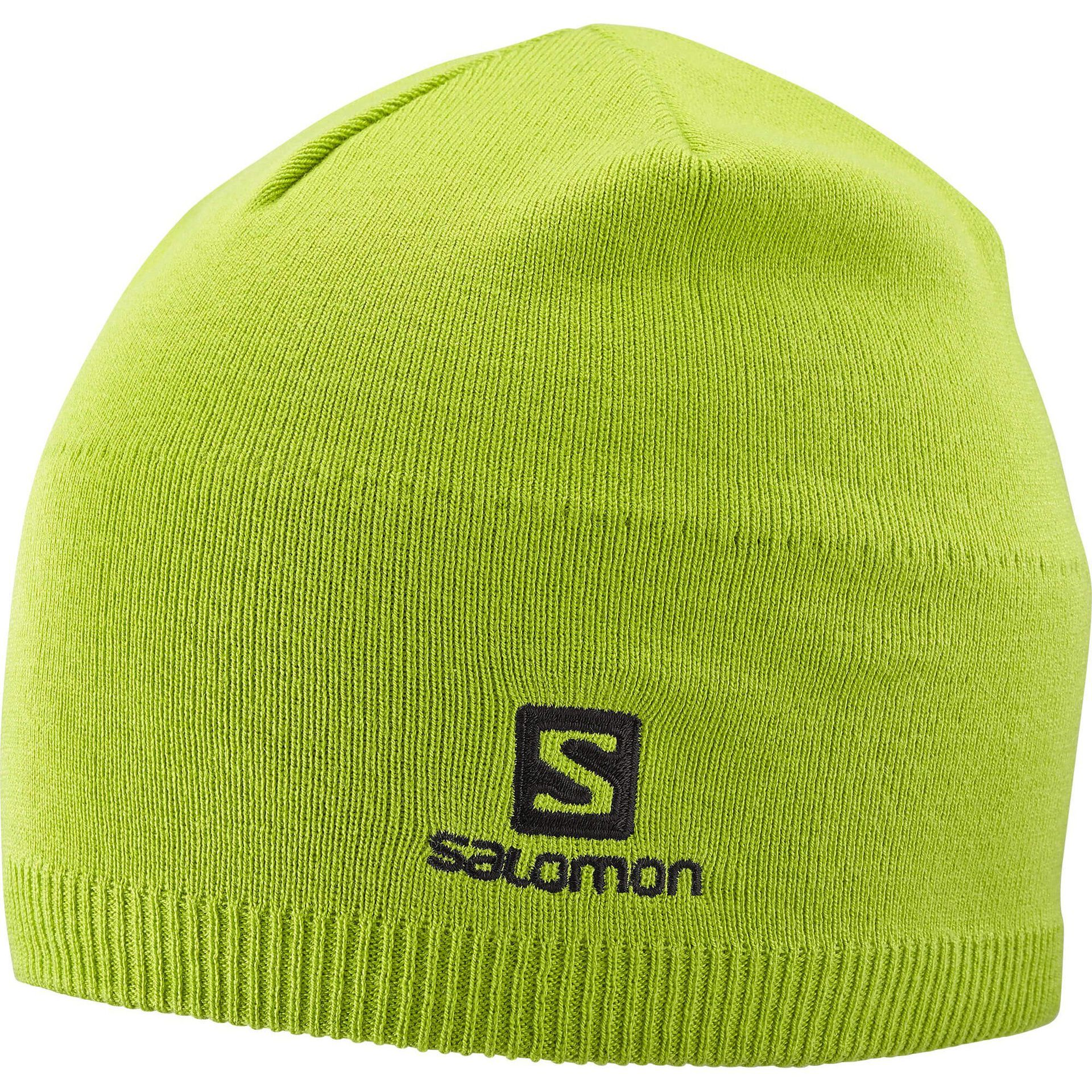 CZAPKA SALOMON SALOMON BEANIE LIME GREEN 402842