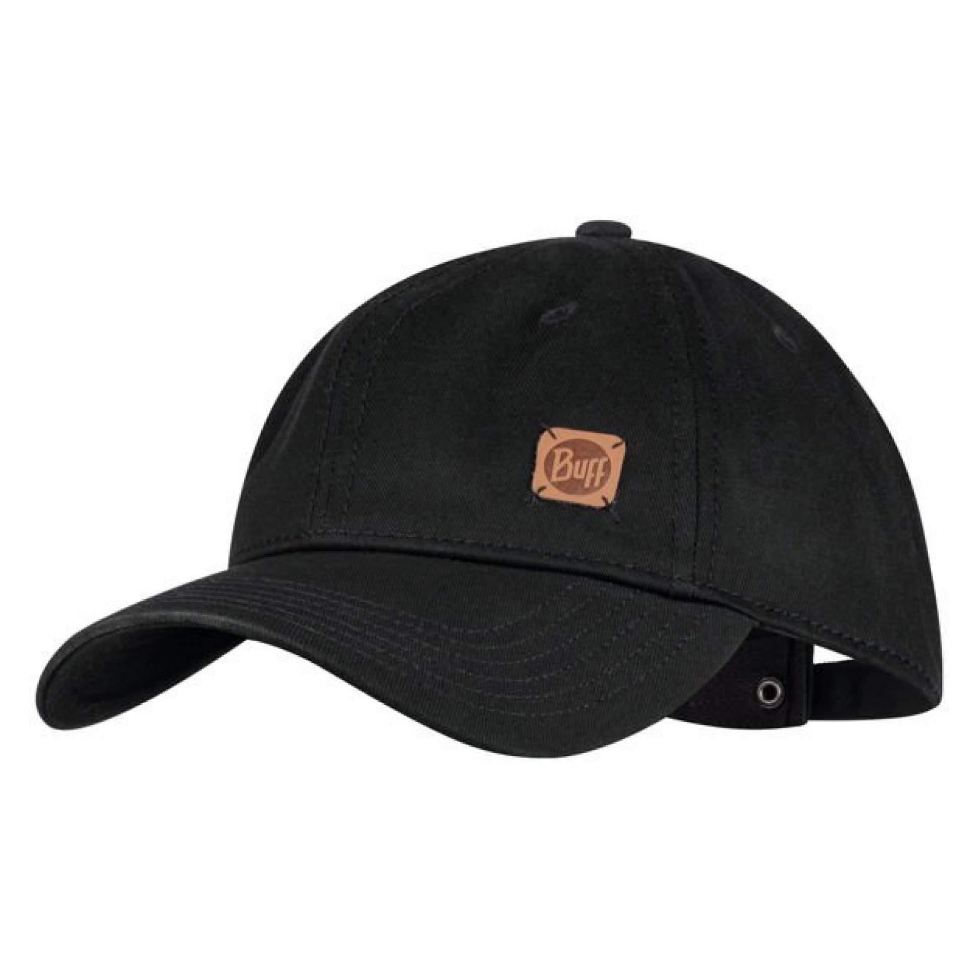 CZAPKA Z DASZKIEM BUFF BASEBALL CAP SOLID BLACK