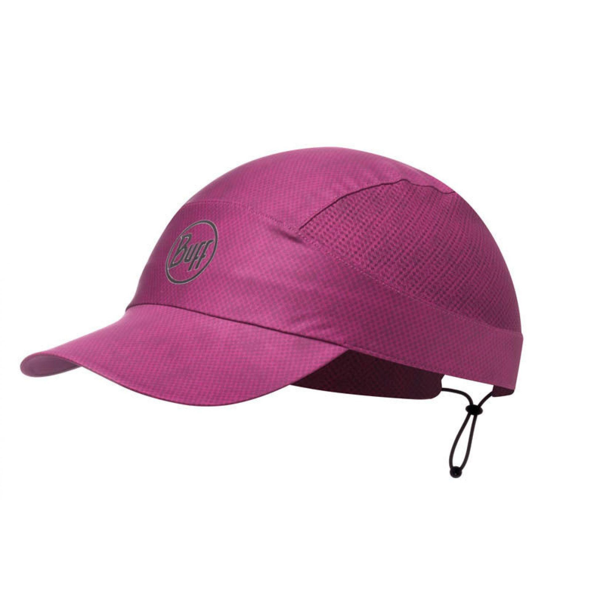 CZAPKA Z DASZKIEM BUFF PACK RUN CAP R-BELKA BOYSENBERRY