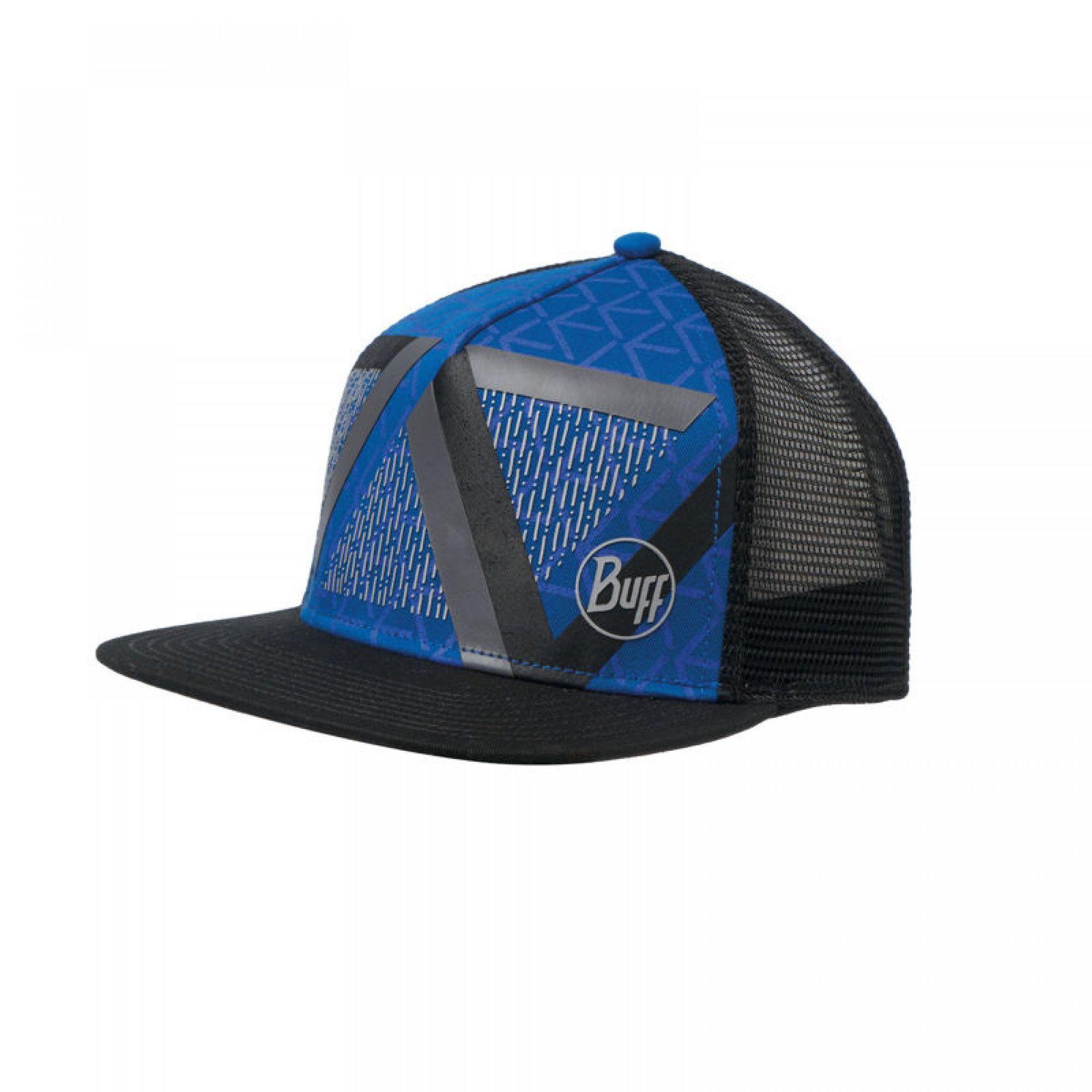 CZAPKA Z DASZKIEM BUFF TRUCKER OPTIC BLOCK CAPE BLUE