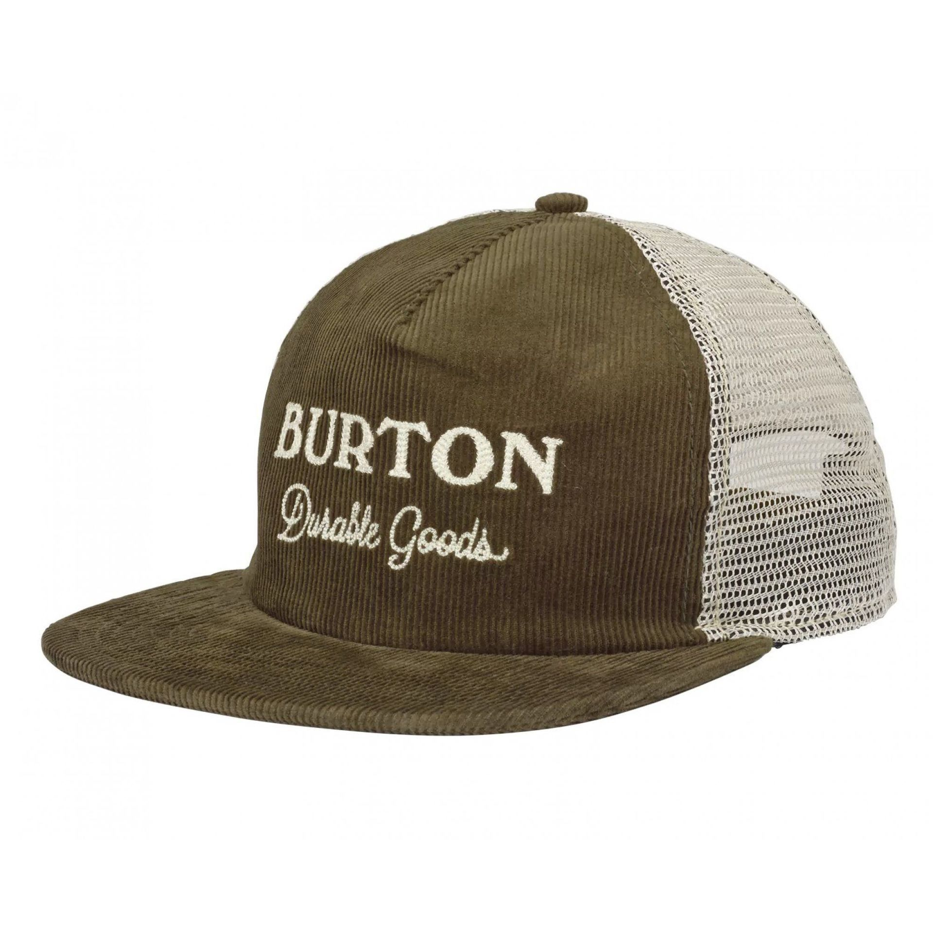 CZAPKA Z DASZKIEM BURTON DURABLE GOODS OLIVE NIGHT