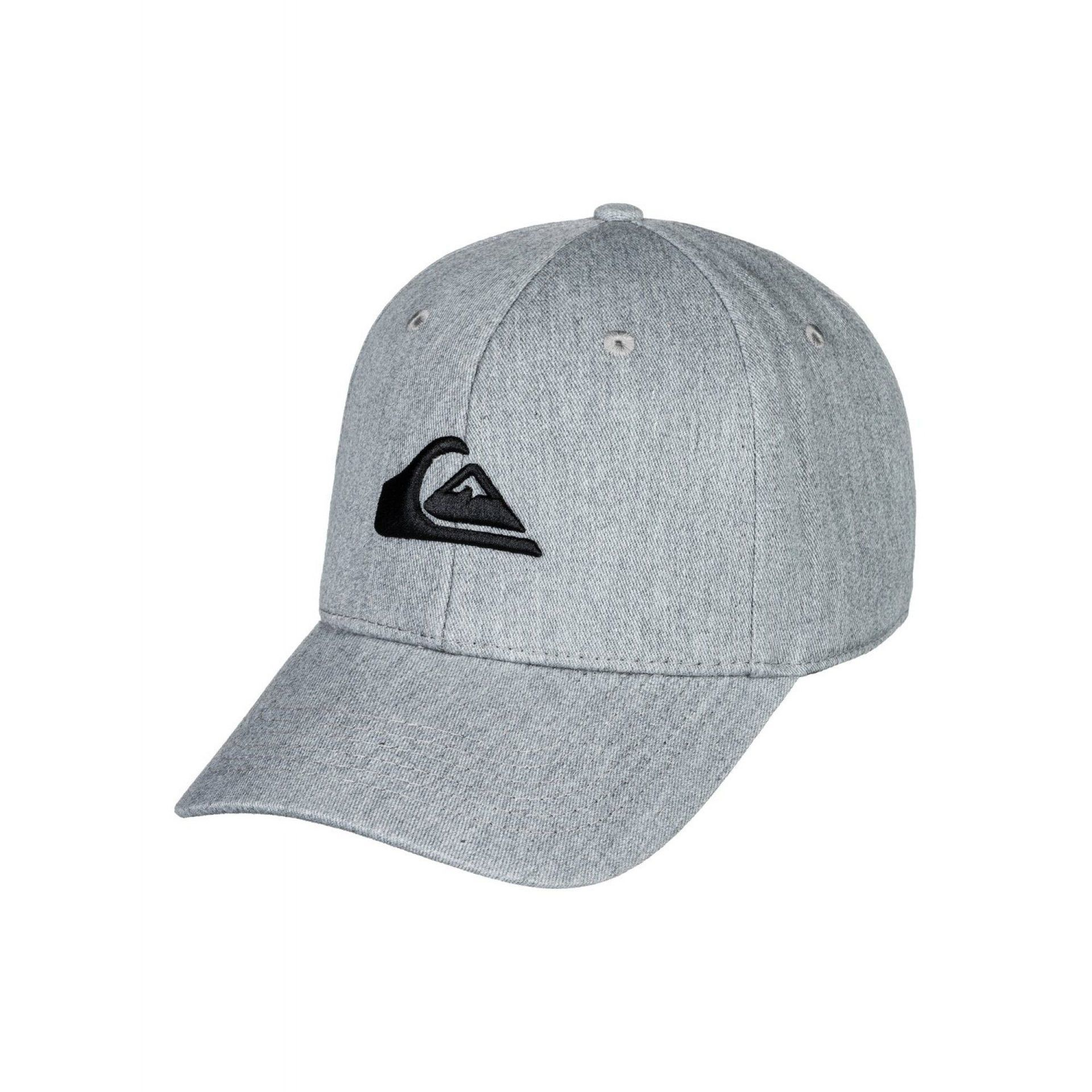 CZAPKA Z DASZKIEM QUIKSILVER DECADES MEDIUM GREY HEATHER