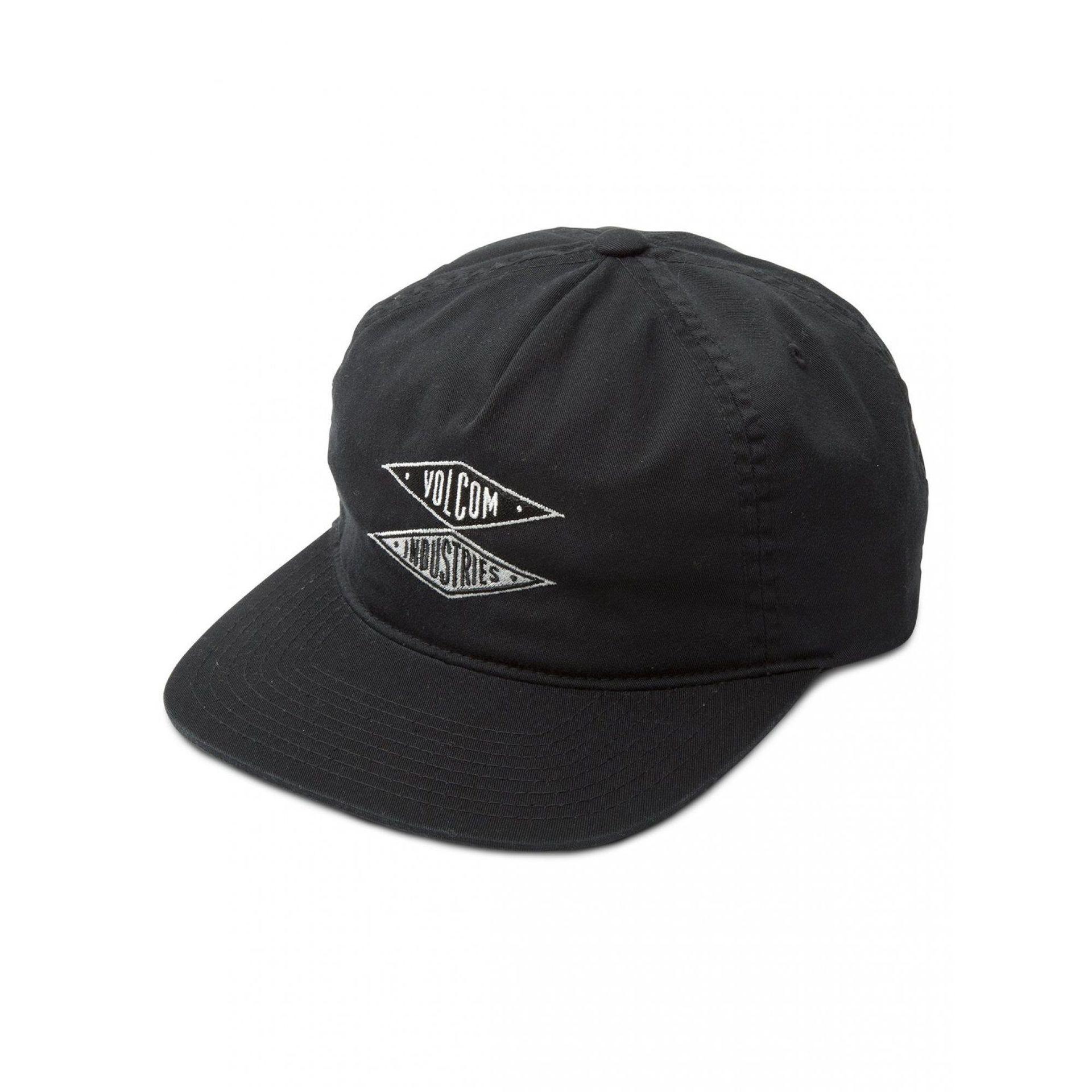 CZAPKA Z DASZKIEM VOLCOM V.I. CAP A5511950-BLACK 1