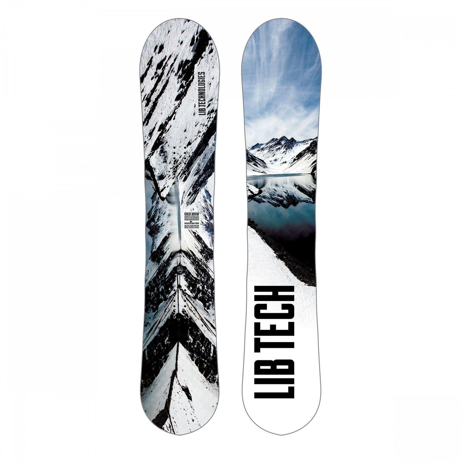 DESKA SNOWBOARDOWA LIB TECH COLD BREW 18SN027