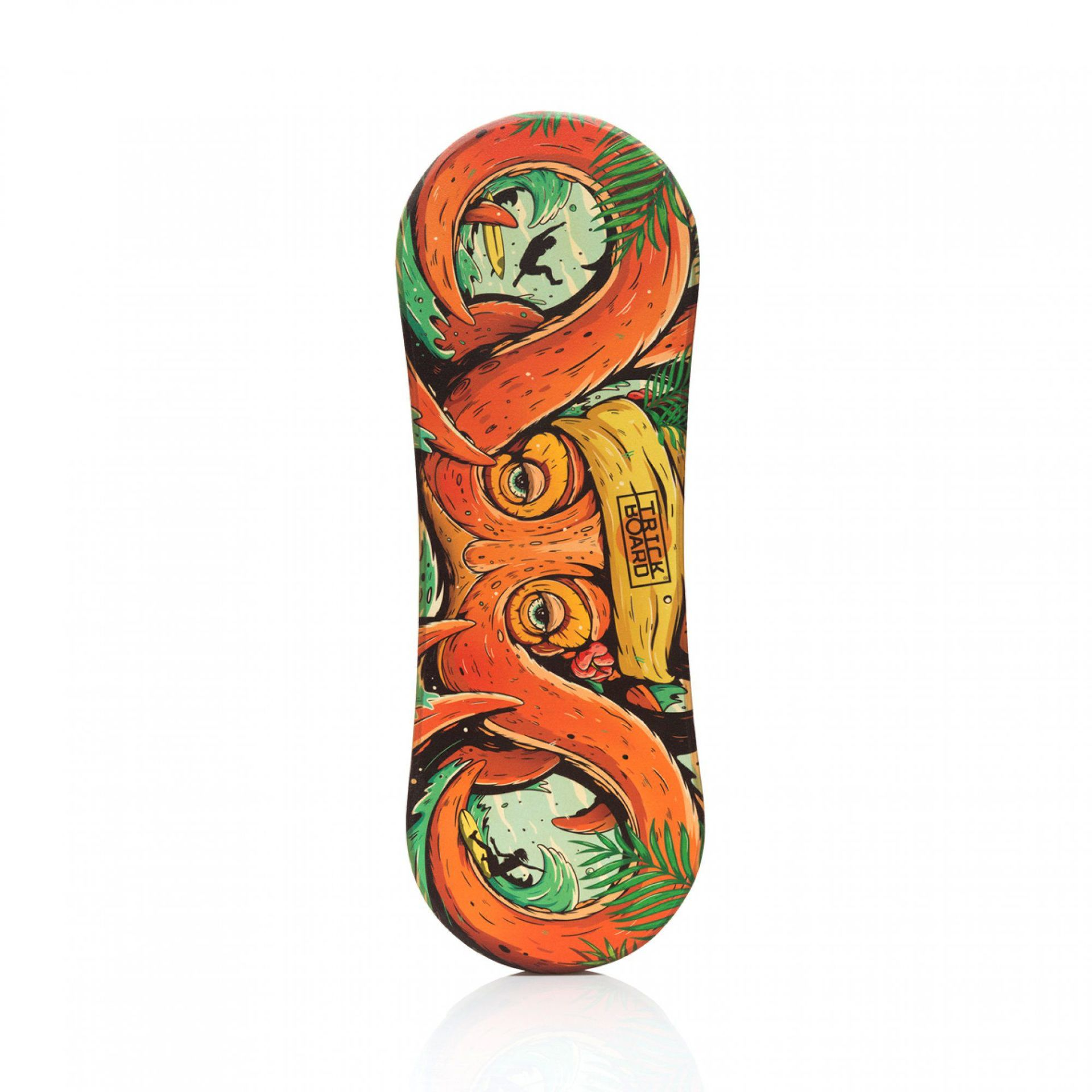 DESKA TRICKBOARD OCTOPUS ORANGE