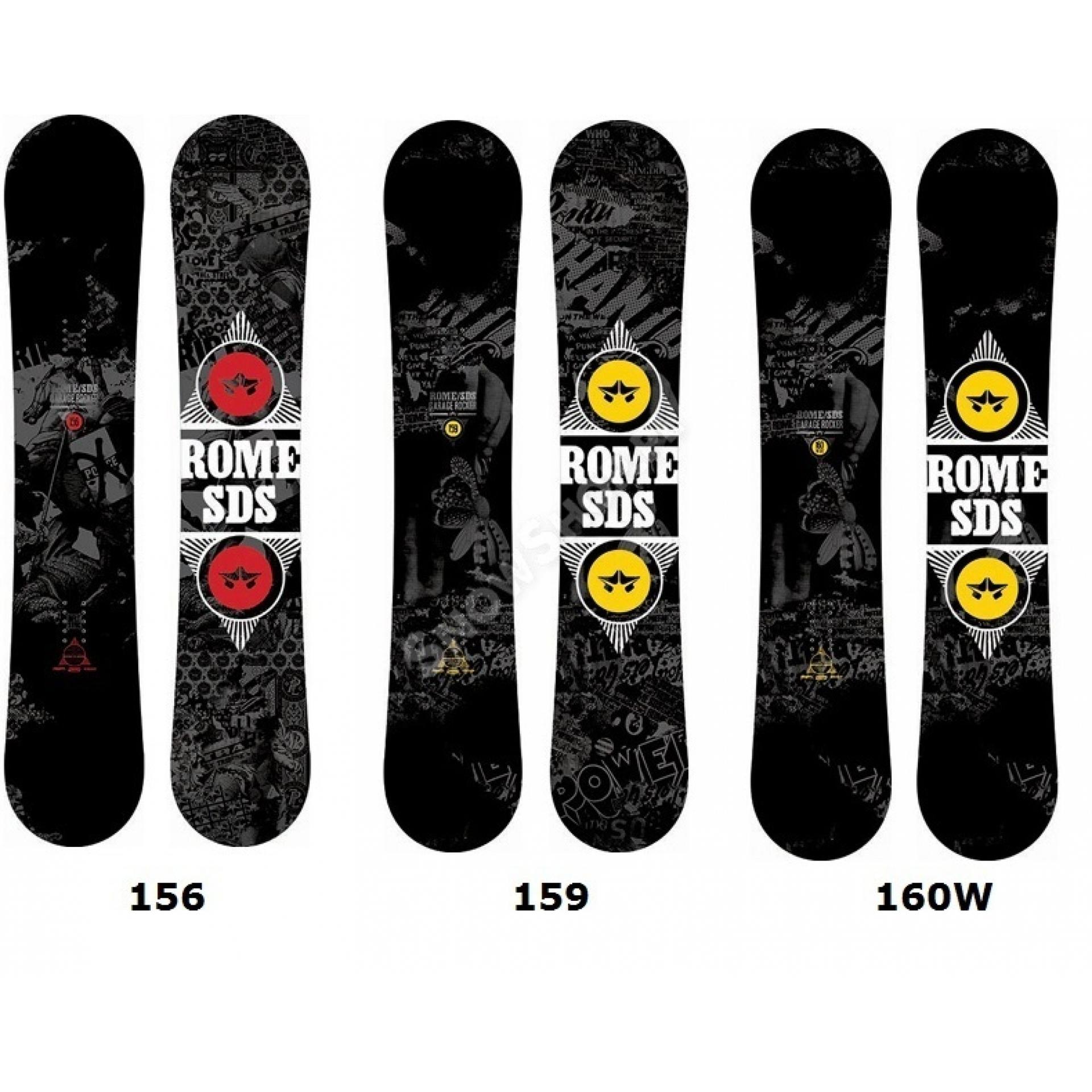 Deski snowboardowe Garage Rocker