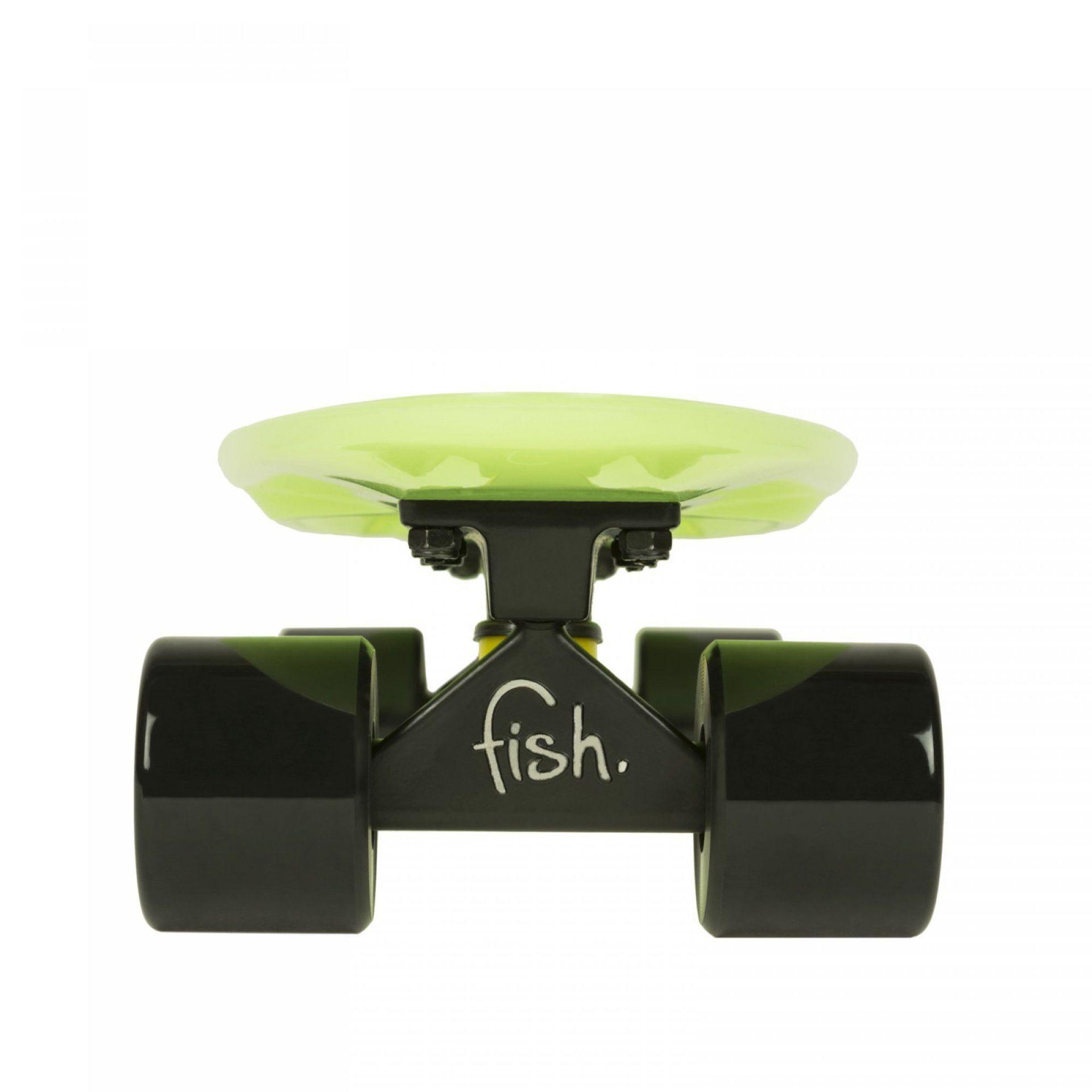 FISHBOARD FISH SKATEBOARDS CLASSIC GLOW GREEN|BLACK 2