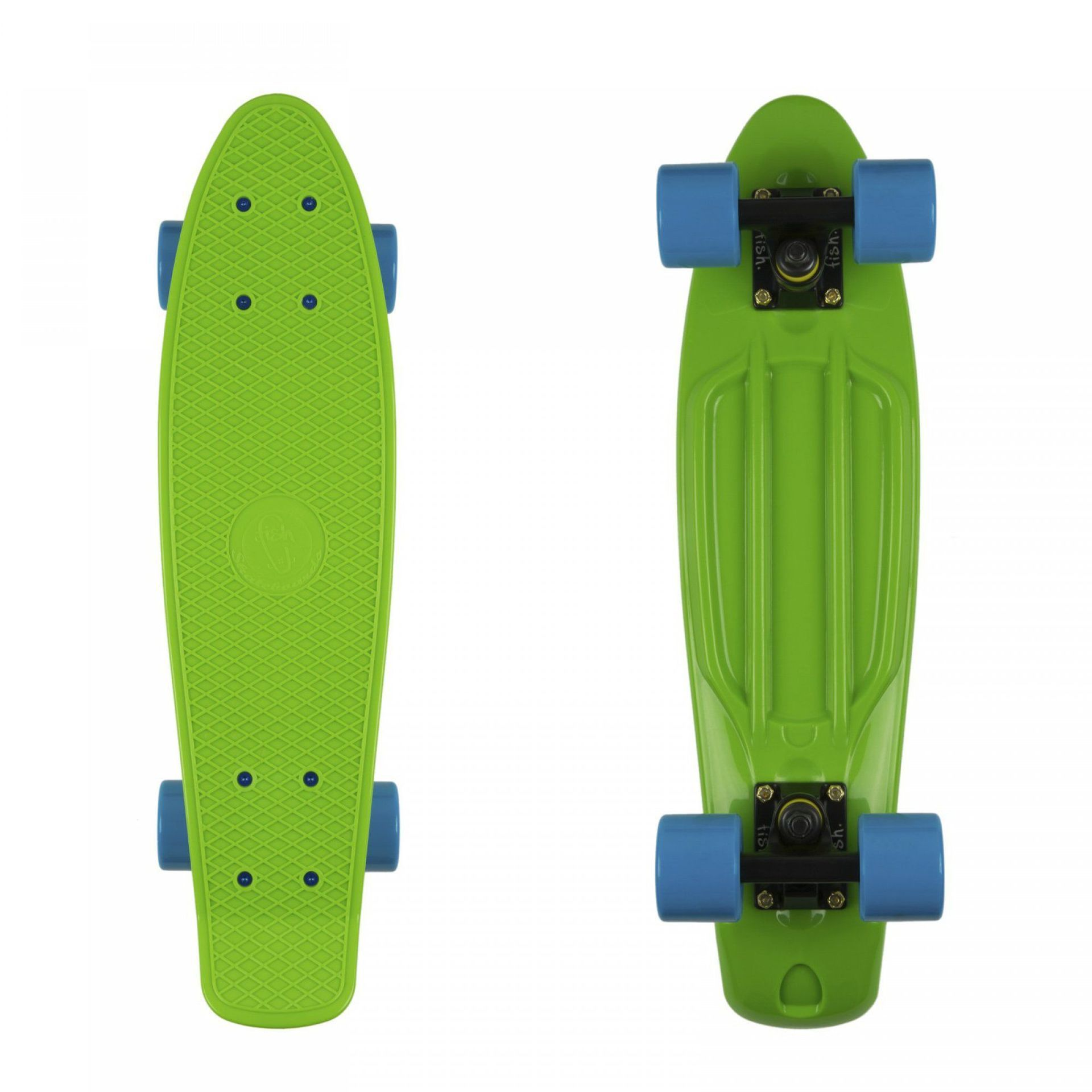 FISHBOARD FISH SKATEBOARDS CLASSIC GREEN|BLACK|BLUE 1