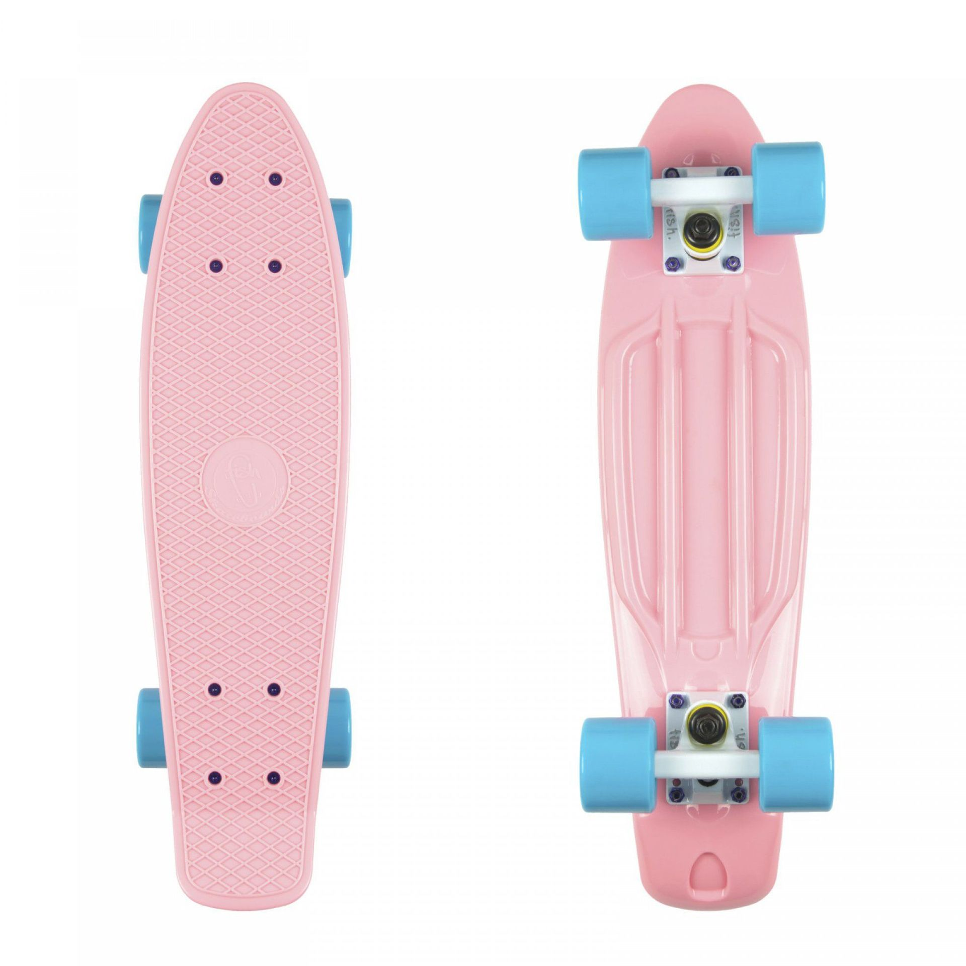 FISHBOARD FISH SKATEBOARDS CLASSIC SUMMER PINK|WHITE|SUMMER BLUE 1