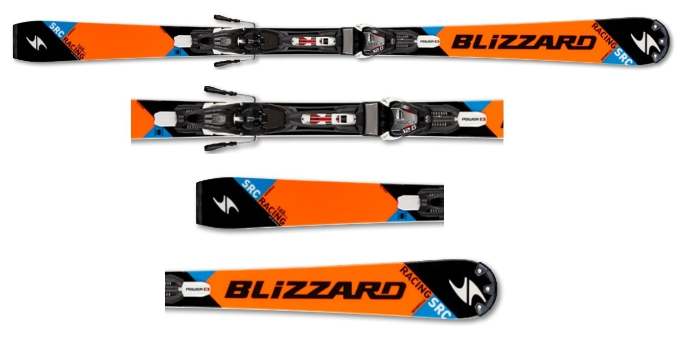 Narty Blizzard SRC Racling Suspension
