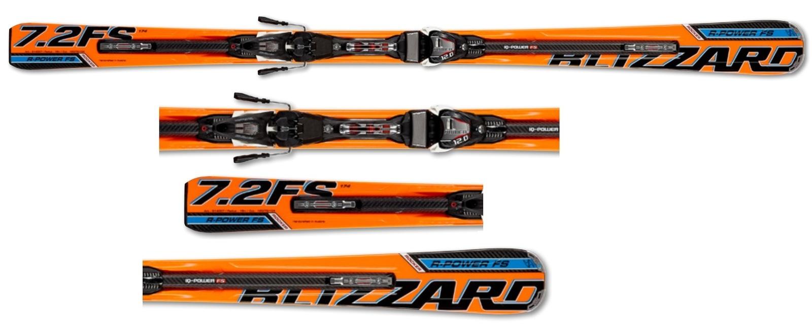 Narty Blizzard R-Power Full Suspension IQ