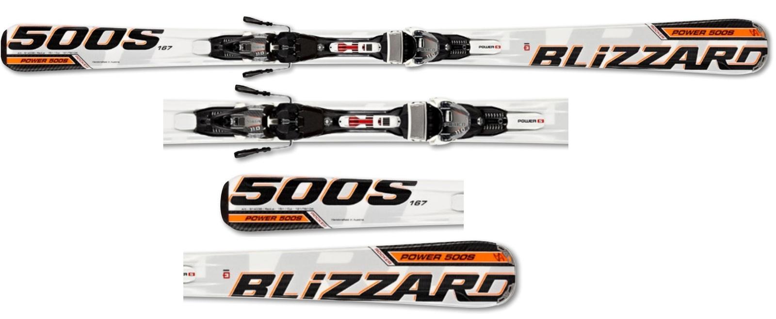 Narty Blizzard Power 500 Suspension IQ