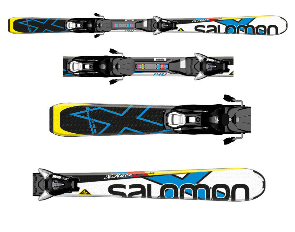 Narty Salomon X-Race JR M