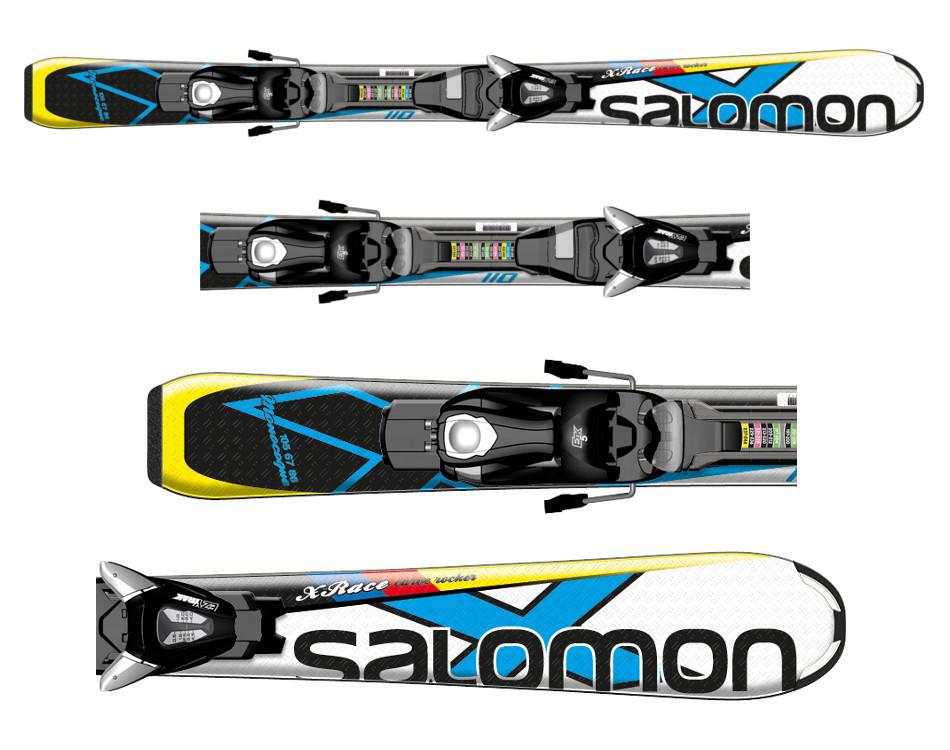 Narty Salomon X-Race JR S