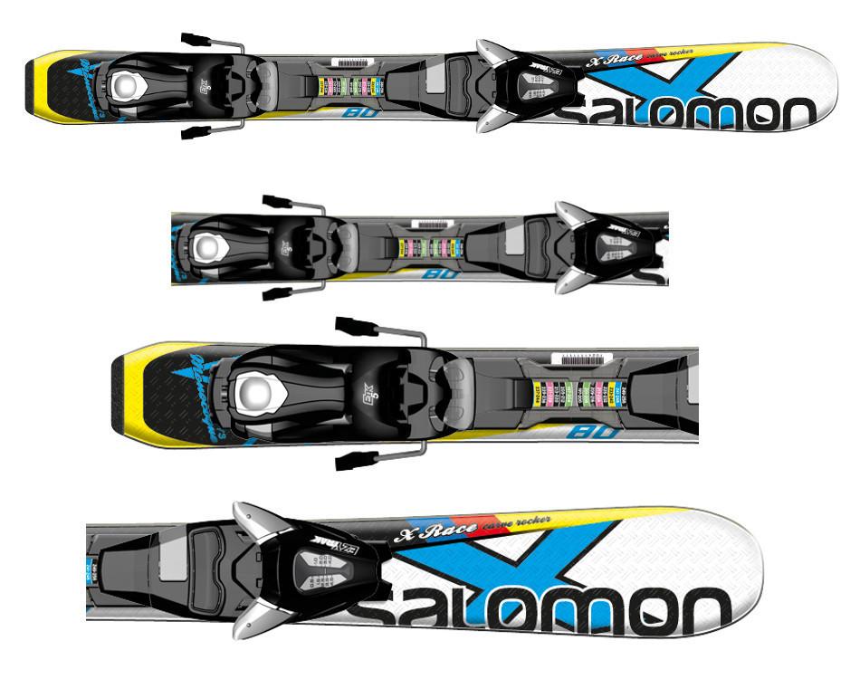 Narty Salomon X-Race JR XS