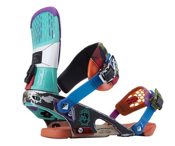 Wiązania snowboardowe Ride Rodeo franken