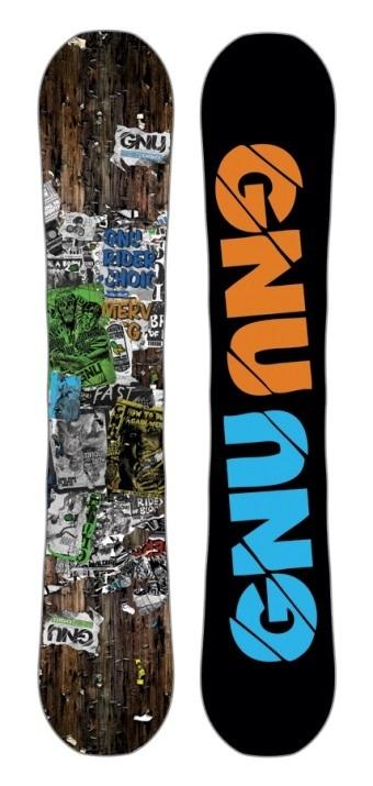 Deska snowboardowa Gnu Riders Choice