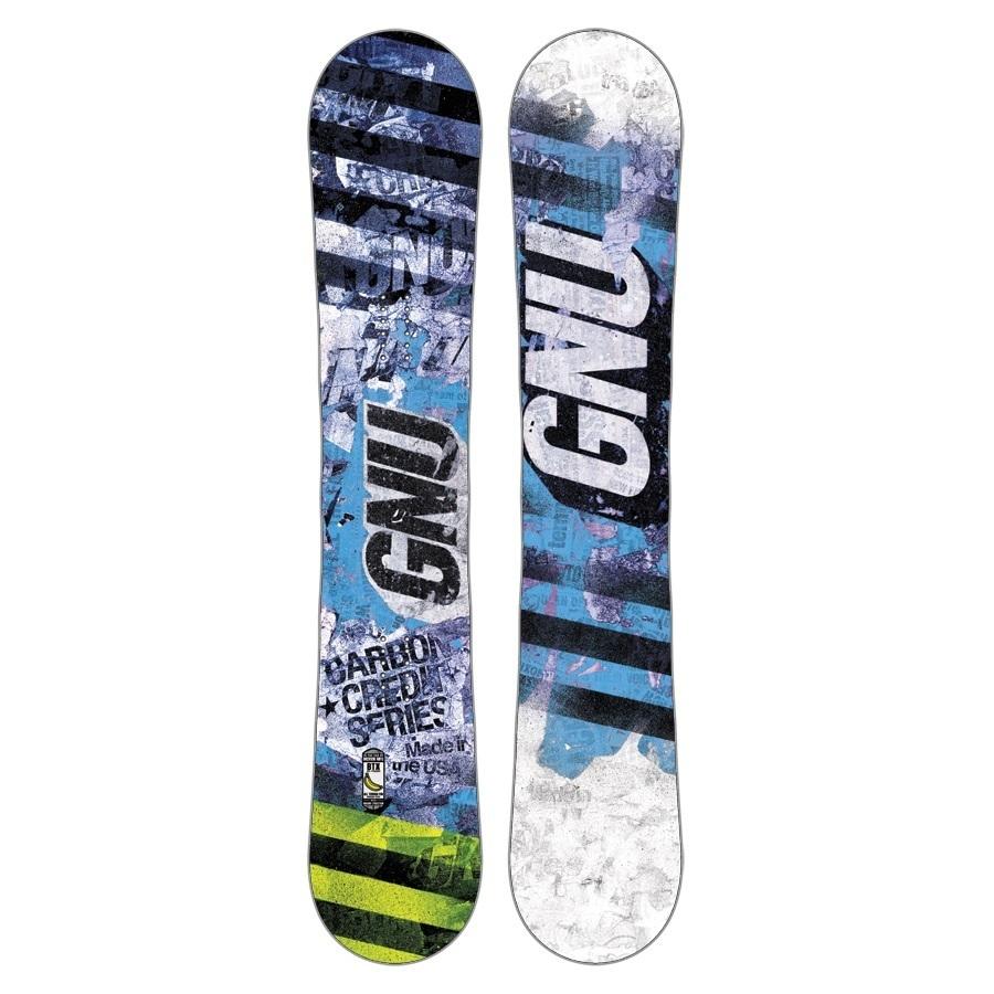 Snowboard Gnu Carbon Credit niebieski