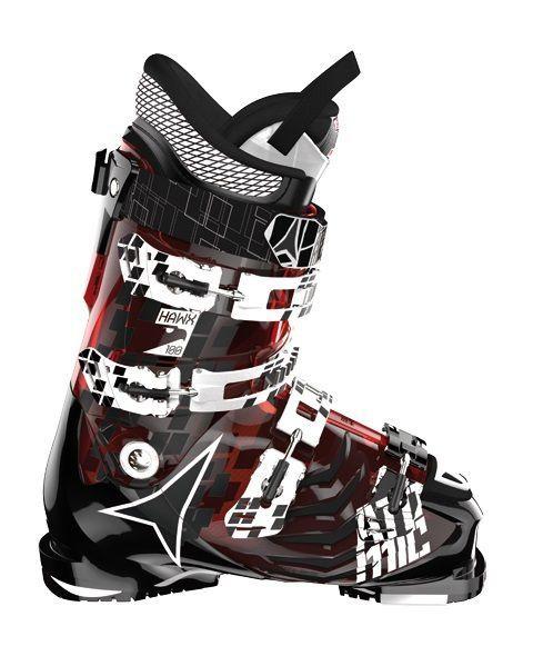 Buty narciarskie Atomic Hawx 100 czerwony|czarny