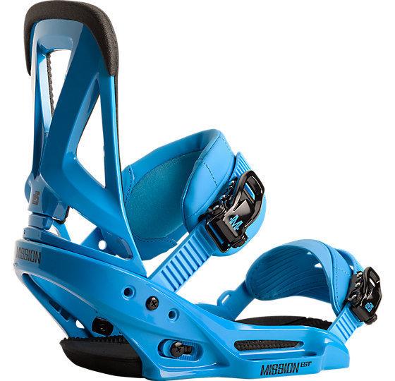 Wiązania snowboardowe Burton Mission EST niebieski