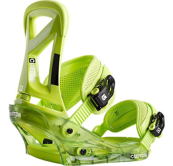 Wiązania snowboardowe Burton Custom zielony