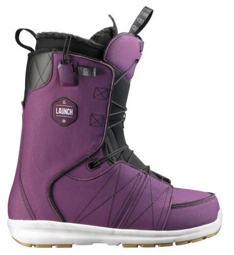 Buty snowboardowe Salomon Launch fioletowy|czarny|biały