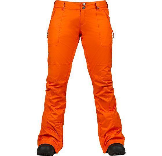 Spodnie snowboardowe Burton Indulgence pomarańczowy