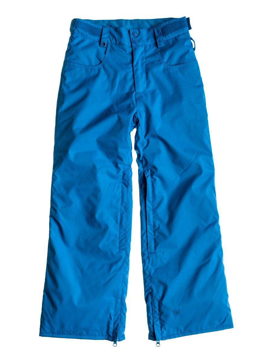Spodnie Quiksilver State Youth 10K Pnt niebieski