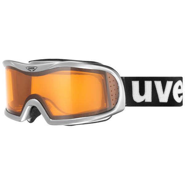 Gogle Uvex Vision optic l alu chrome silver