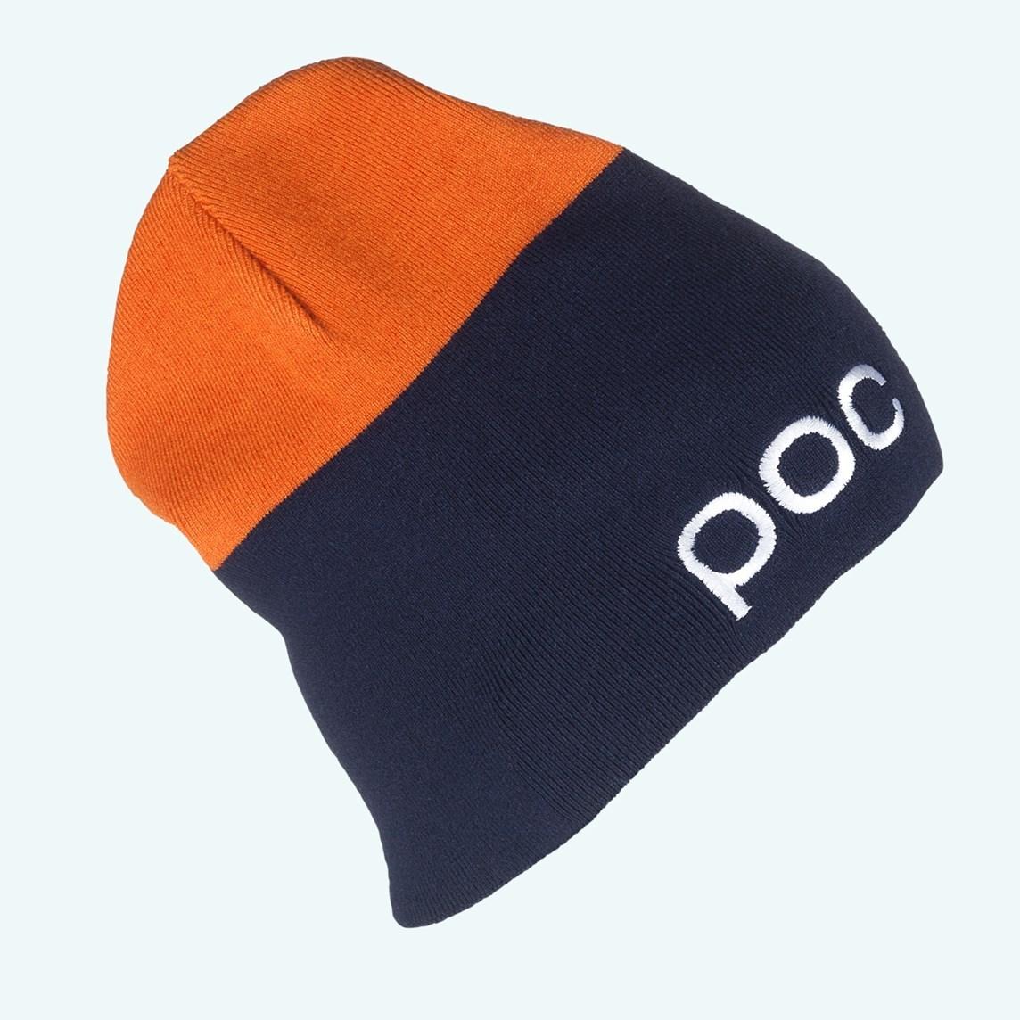 Czapka Poc 2 Colored Beanie niebieska|pomarańczowa