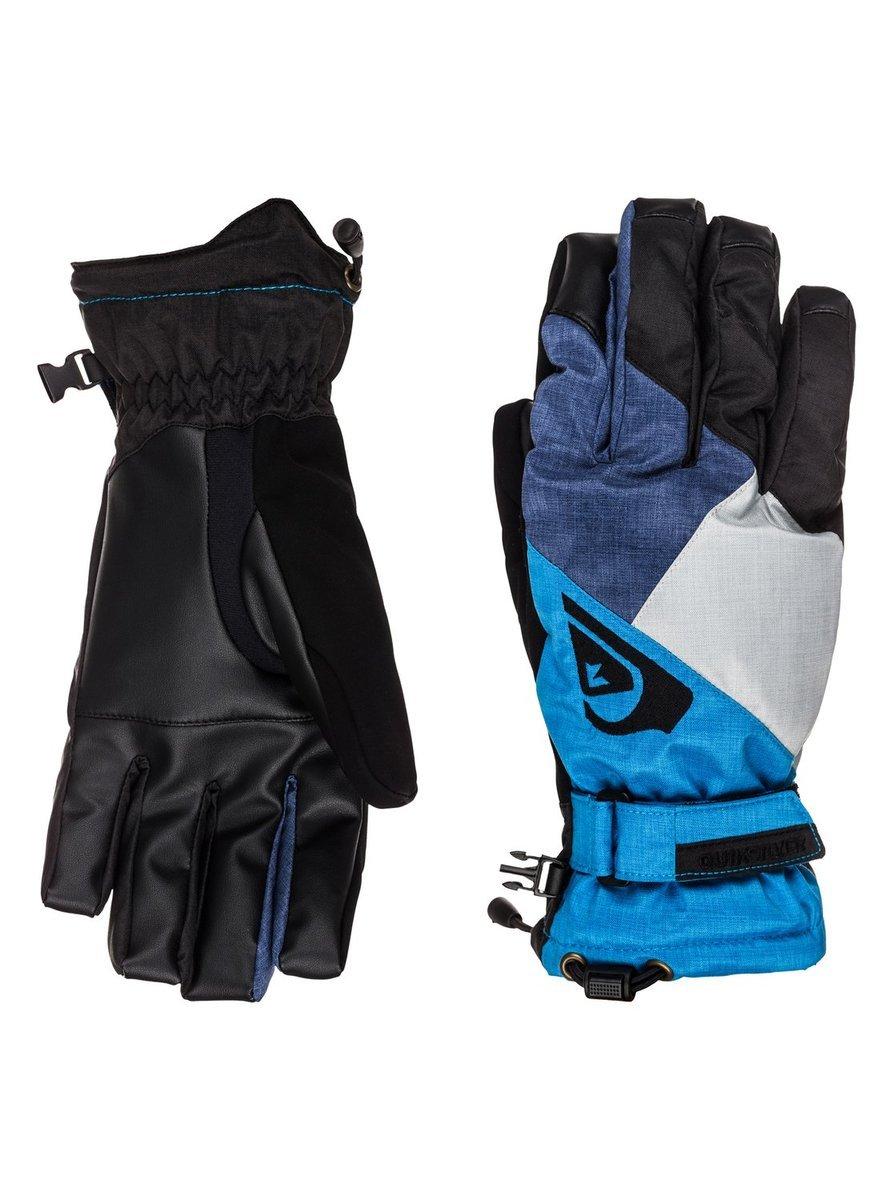 Rękawice Quiksliver Meteor gloves czarne|niebieskie
