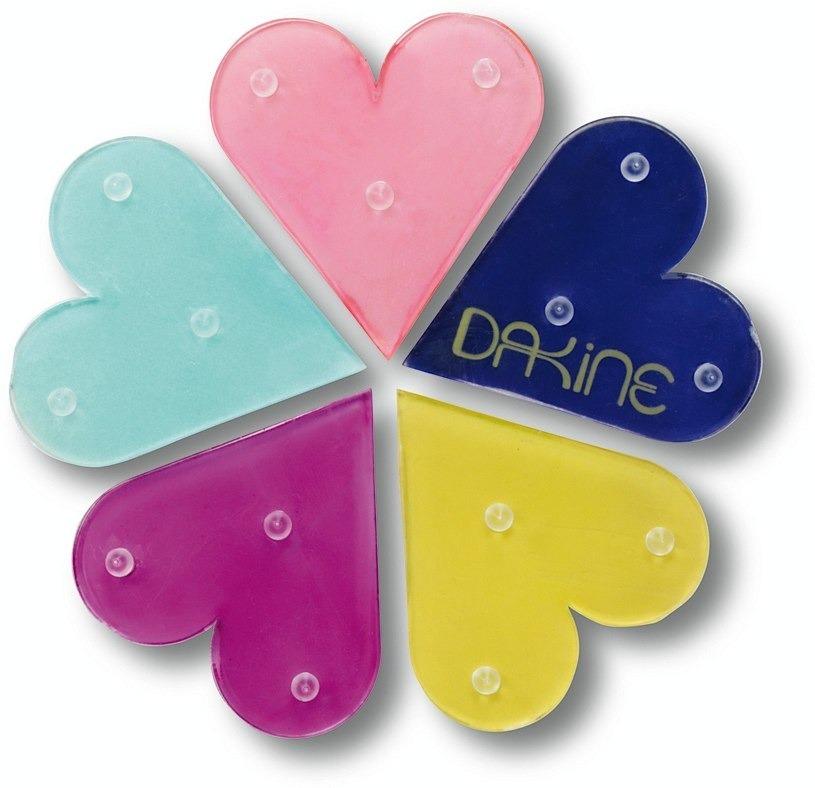 Podkładka antypoślizgowa Dakine Hearts Mat Rainbow