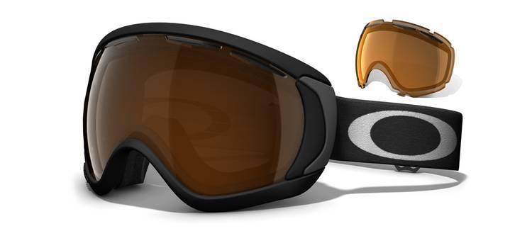 Gogle Oakley Canopy Matte Black|Black Iridium|Persimmon