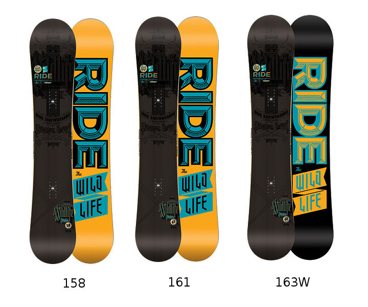Deska snowboardowa Ride Wild Life