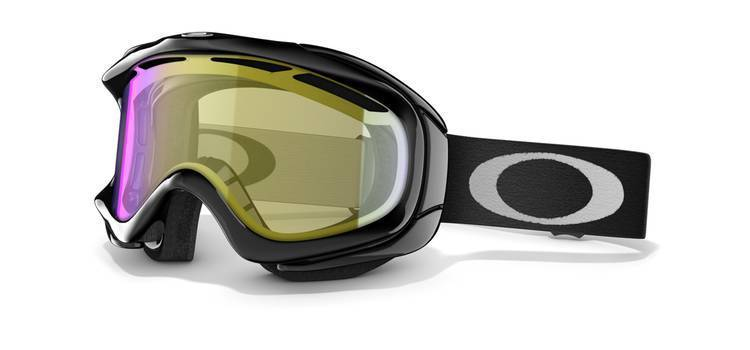 Gogle Oakley Jet Black|H.I. Yellow