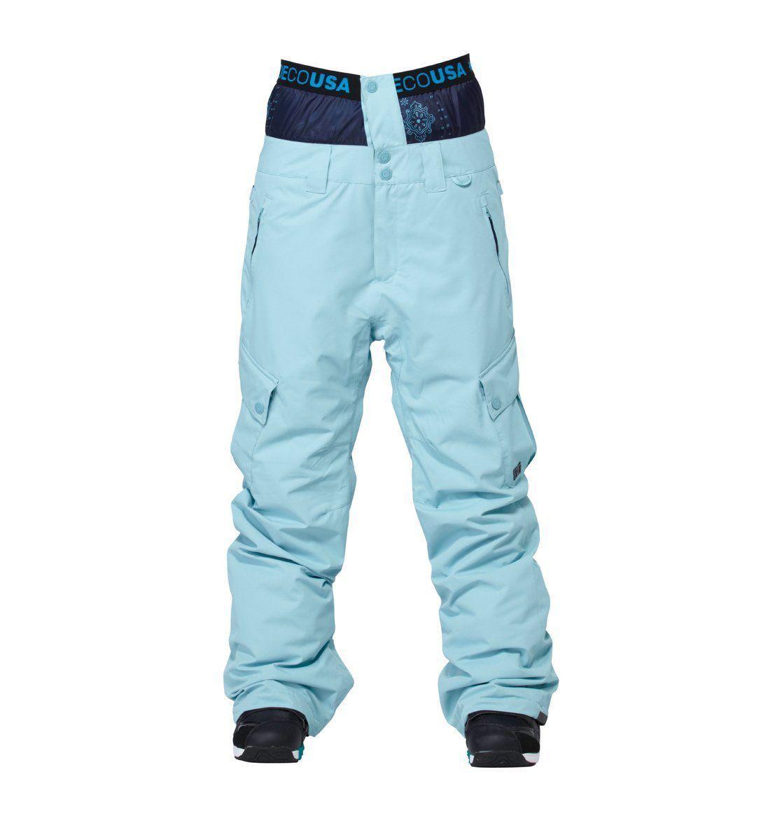 Spodnie DC Martock niebieskie
