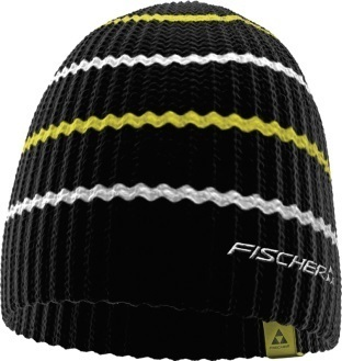Czapka Fischer Long Stripes czarna