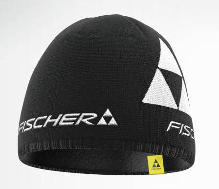 Czapka Fischer Beanie  Logo czarna