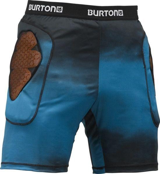 Spodenki ochronne Burton Base Layer Short  czarno|niebieskie