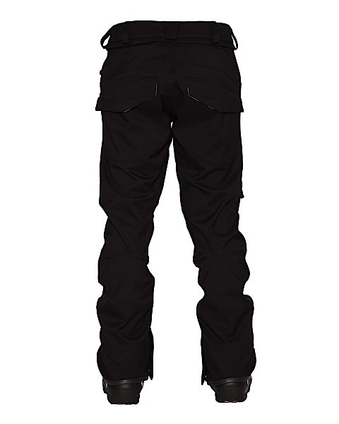 Spodnie Volcom Species Stretch Pant czarne tył