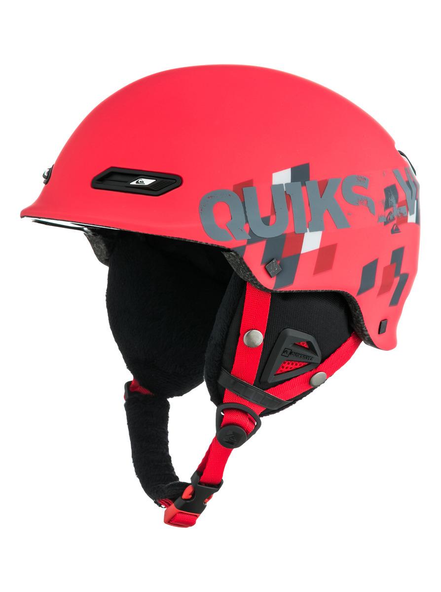 Kask Quiksilver Wildcat czerwony
