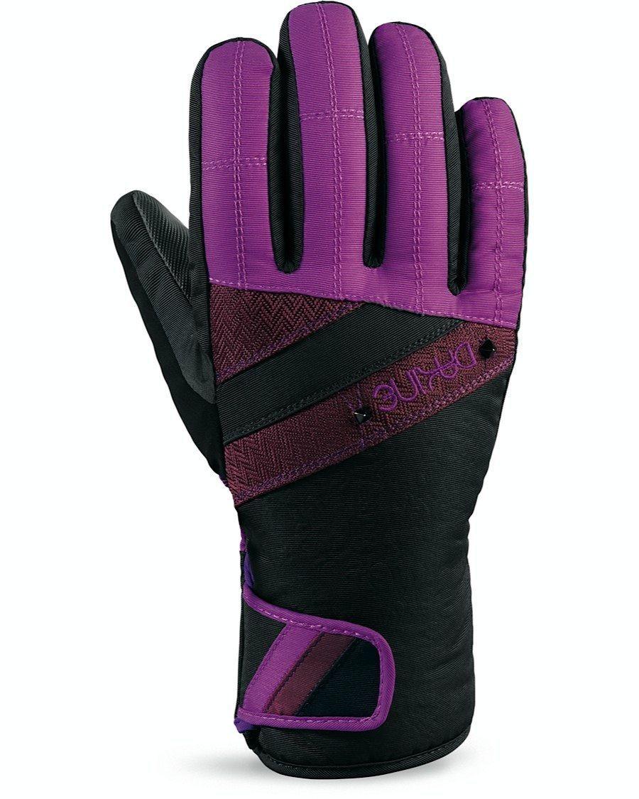 Rękawice Dakine Sienna Glove czarno|fioletowe