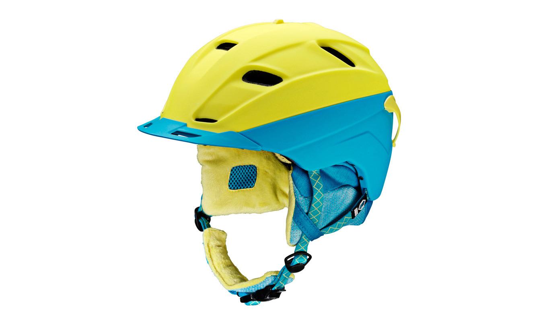 Kask Head Crest niebieski|żółty