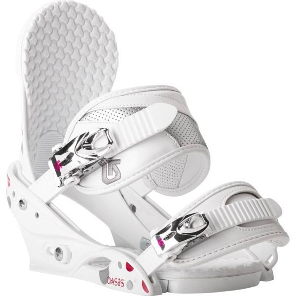 Wiązania snowboardowe Burton Oasis białe