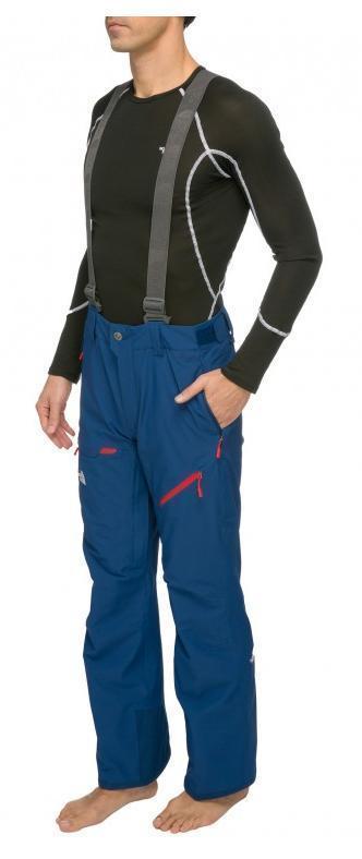 Spodnie The North Face Furano niebieski