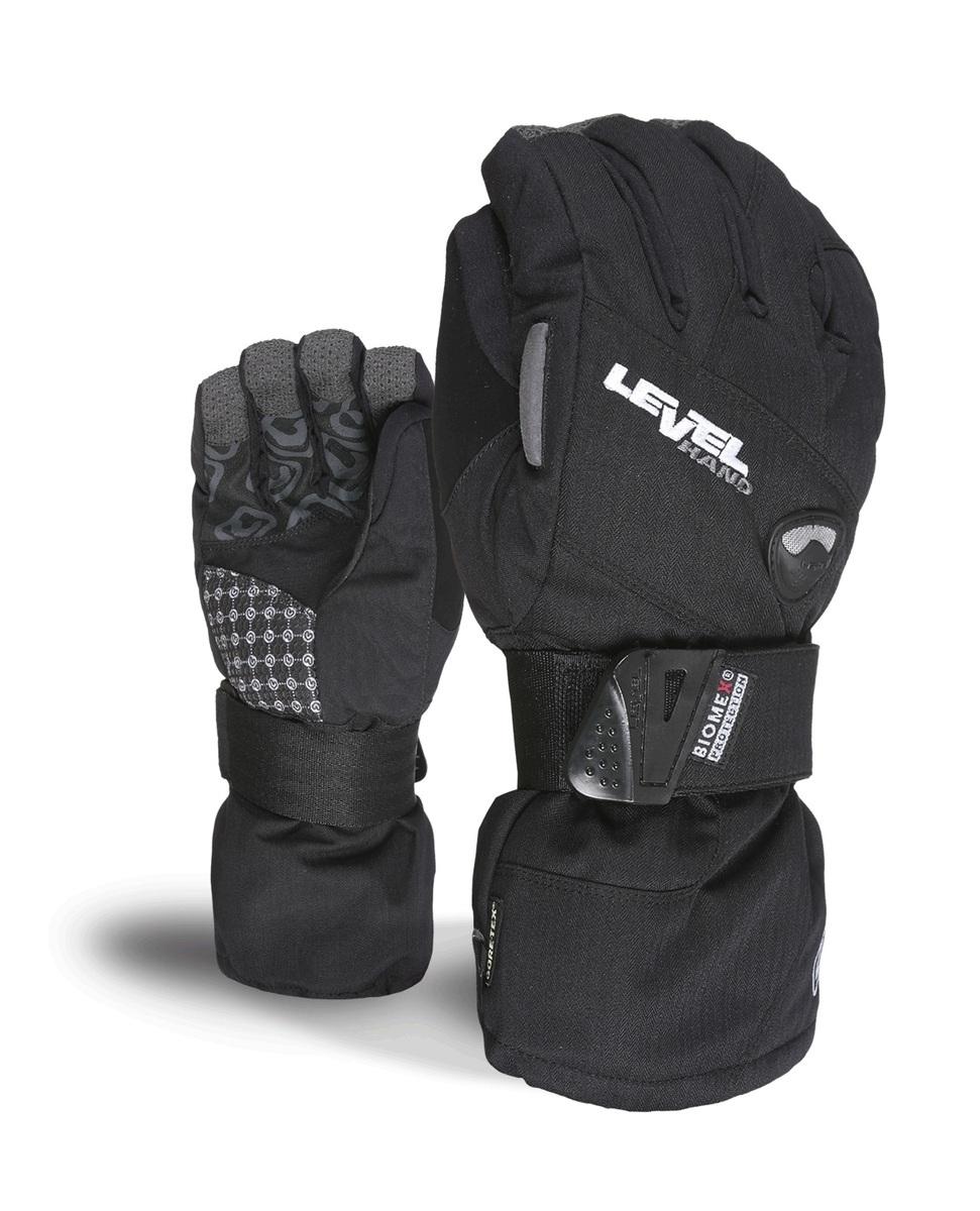 Rękawice Level Half Pipe XCR czarne