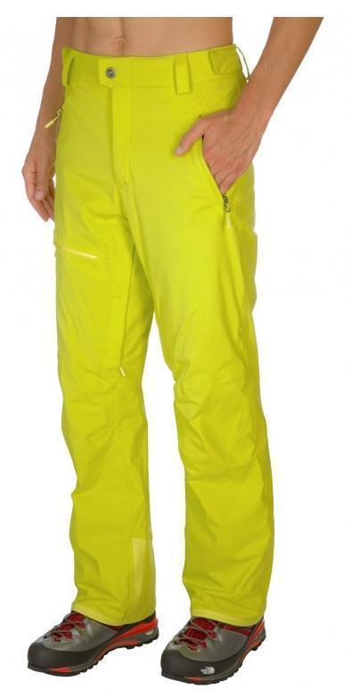 Spodnie The North Face Bansko żółty